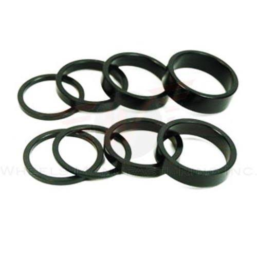 Wheels Manufacturing Spacer - Black, 1 1/8""