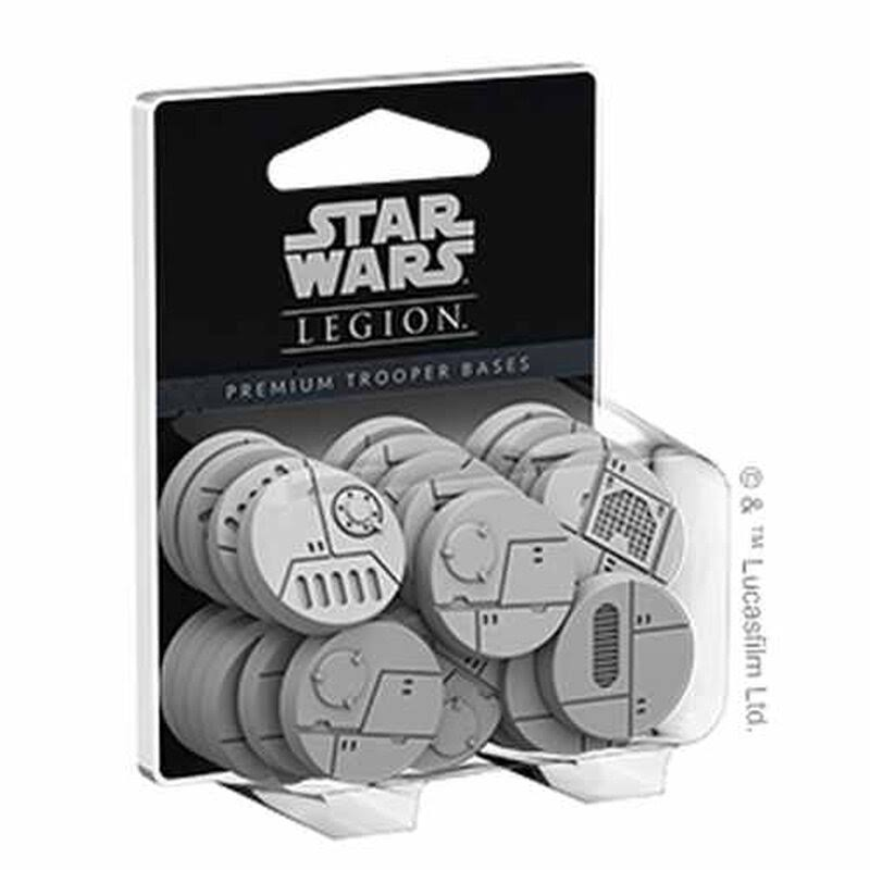 Star Wars - Legion - Premium Trooper Bases