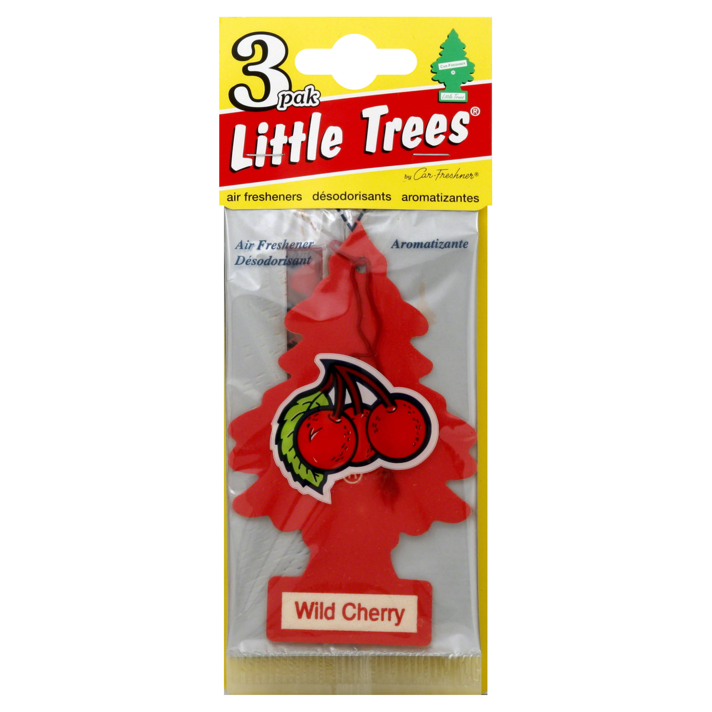 Little Tree Air Freshener - Wild Cherry, 3 Pack