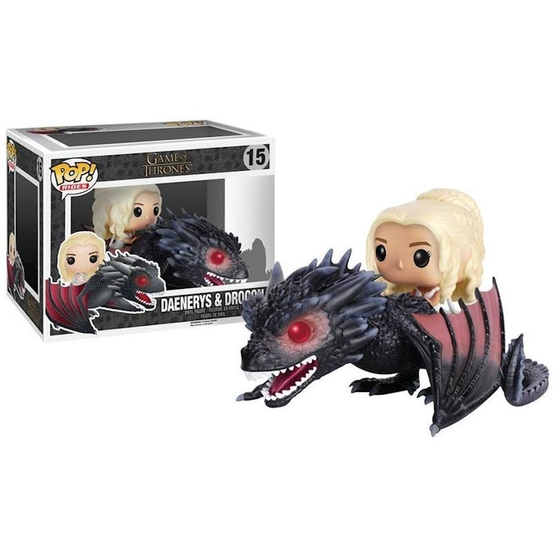 Funko Pop Game of Thrones 15 Dragon and Daenerys Action Figure