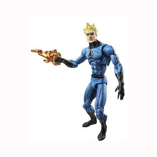 Hasbro Marvel Universe Series 1 Human Torch Action Figure - 3 3/4""
