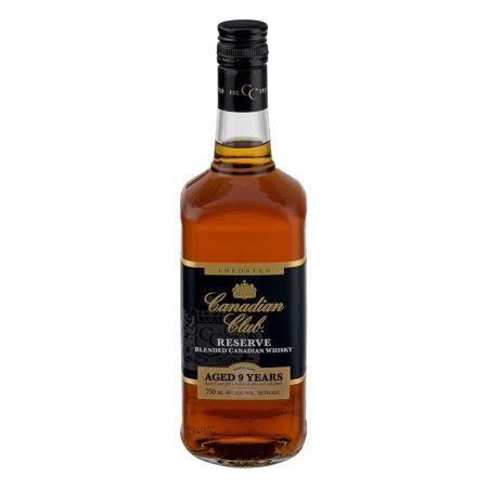 Canadian Club Reserve Blended Canadian Whiskey - 750ml