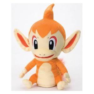 "Takara Tomy Official Nintendo Pokemon Diamond & Pearl Plush Hand Puppet - 14"" Chimchar (Japanese import)"