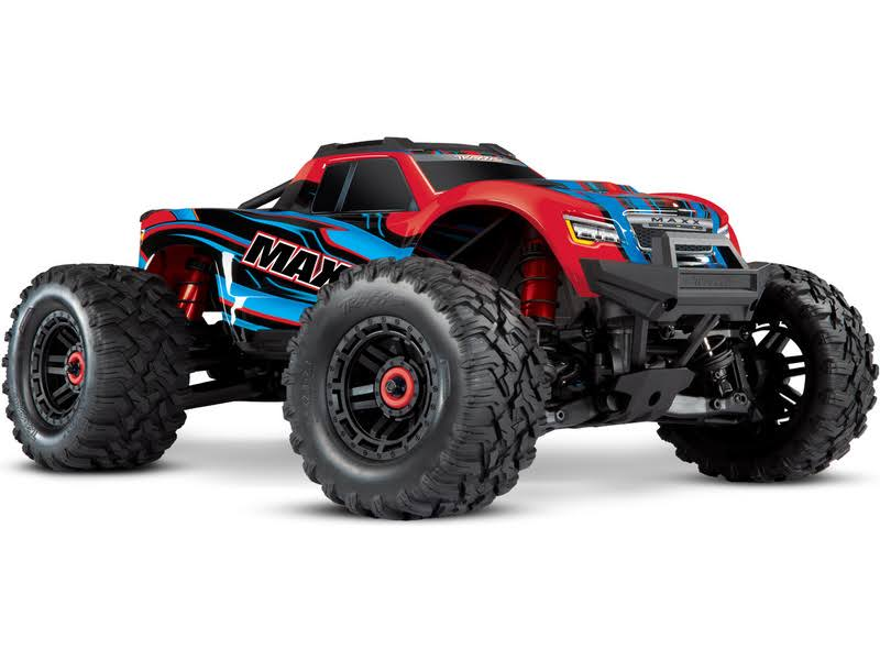 Traxxas Maxx Monster TruckRed x RC Car