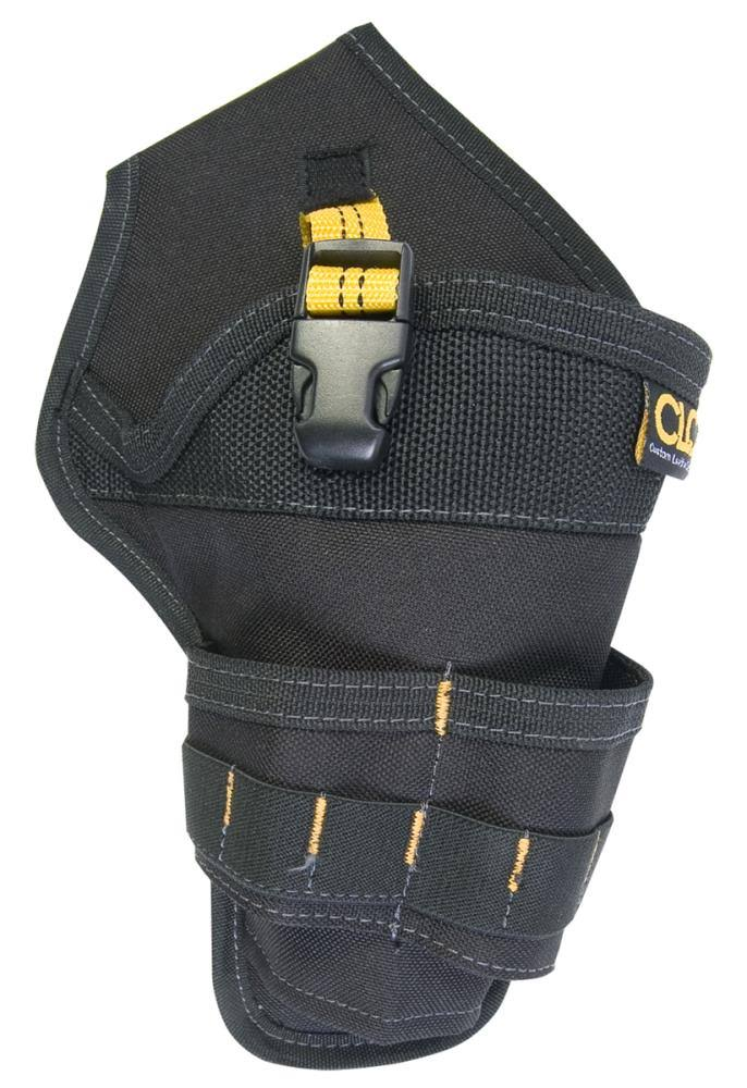 CLC 5023 Polyester Cordless Drill Holster - Black