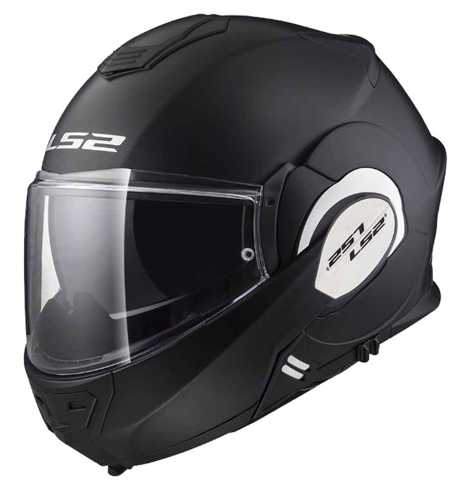 LS2 Valiant Helmet - Matte Black, Medium