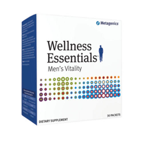 Metagenics Wellness Essentials Men Vitality Multivitamins Dietary Supplement - 30 ct