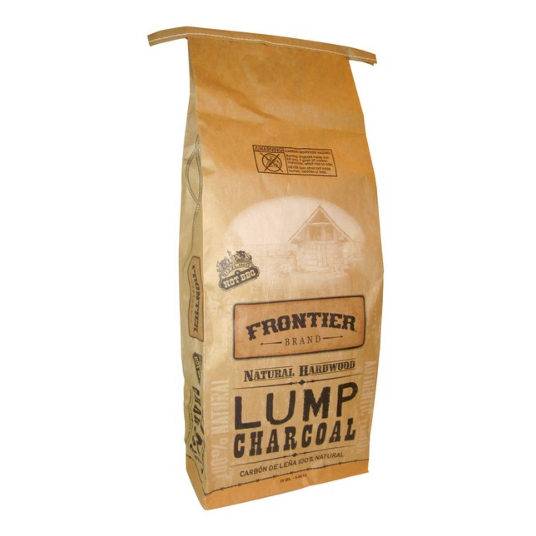 Frontier Lump Charcoal - Natural Hardwood