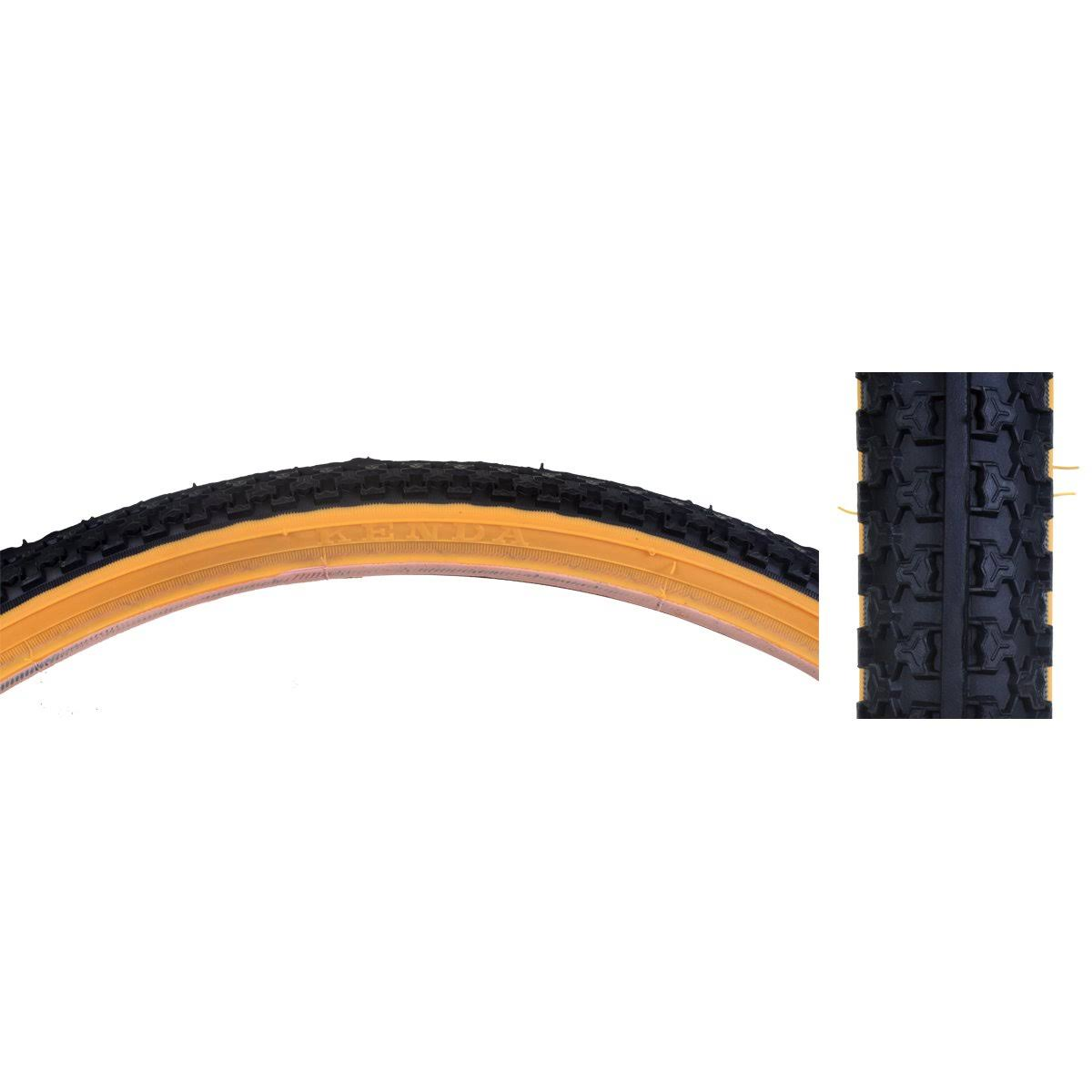 "Sunlite MTB Raised Center Tire - Black/Black, 26"" x 1.5"""