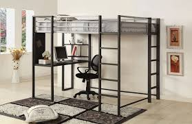 Build Loft Bed With Desk by How To Build A Loft Bunk Bed With Desk Modern Loft Beds