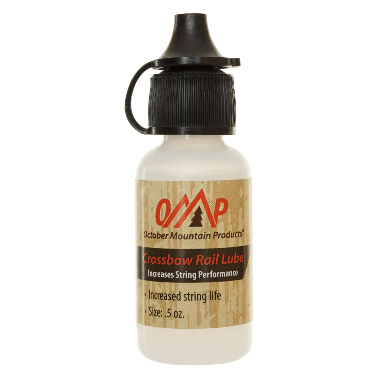 October Mountain Crossbow Rail Lube - 0.5oz