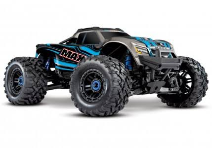 Traxxas 89076-4 Maxx 4WD RTR Monster Truck - Blue, 1/10 Scale