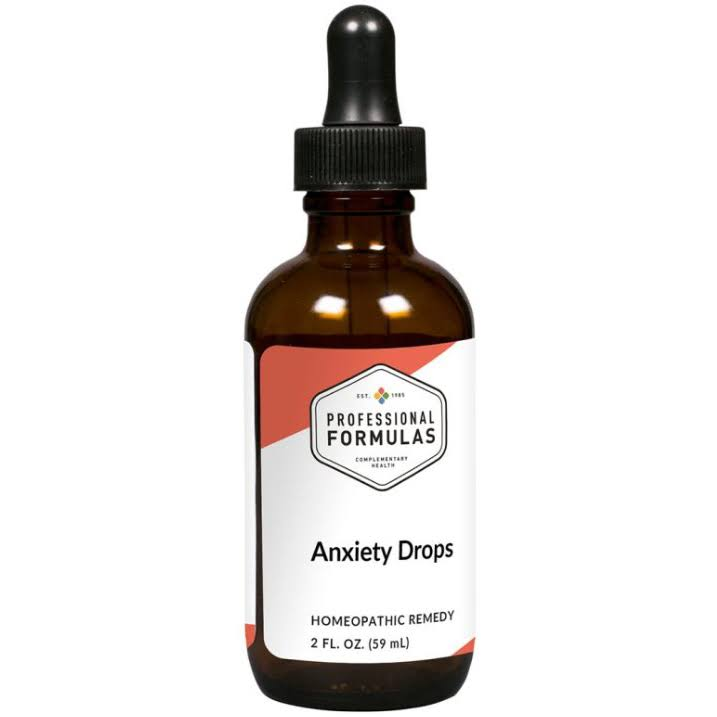 Professional Formulas Homeopathic Remedies - Anxiety Drops - 2 fl. oz
