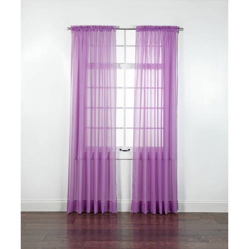 Stylemaster Elegance Sheer Voile Curtain Panel
