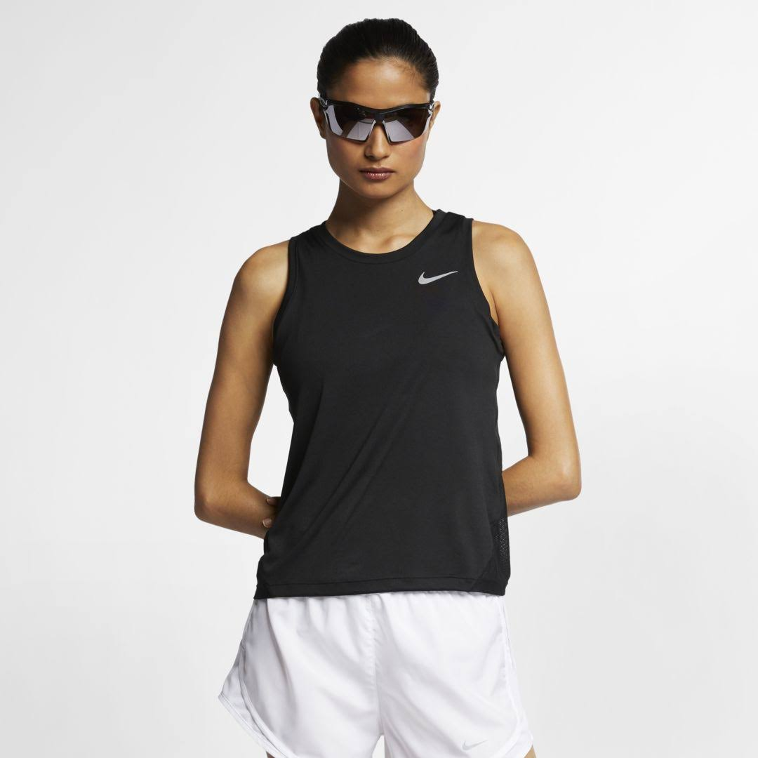 Nike Women Miler Running Tank - Black - S