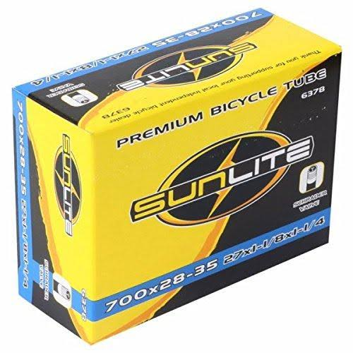 Sunlite Bicycle Inner Tube Schrader Valve - 700c x 28-35mm