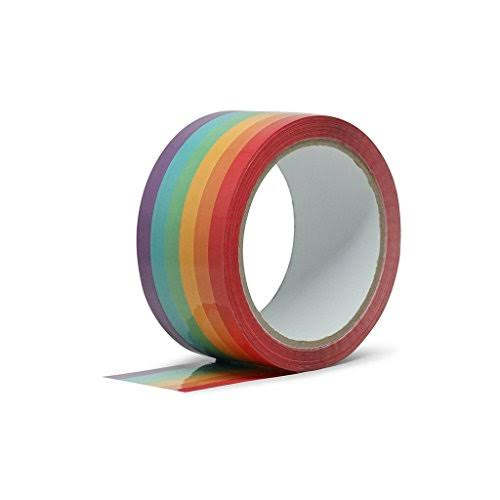 Fctry Rainbow Tape-great for Crafts or Packing Tape 21837