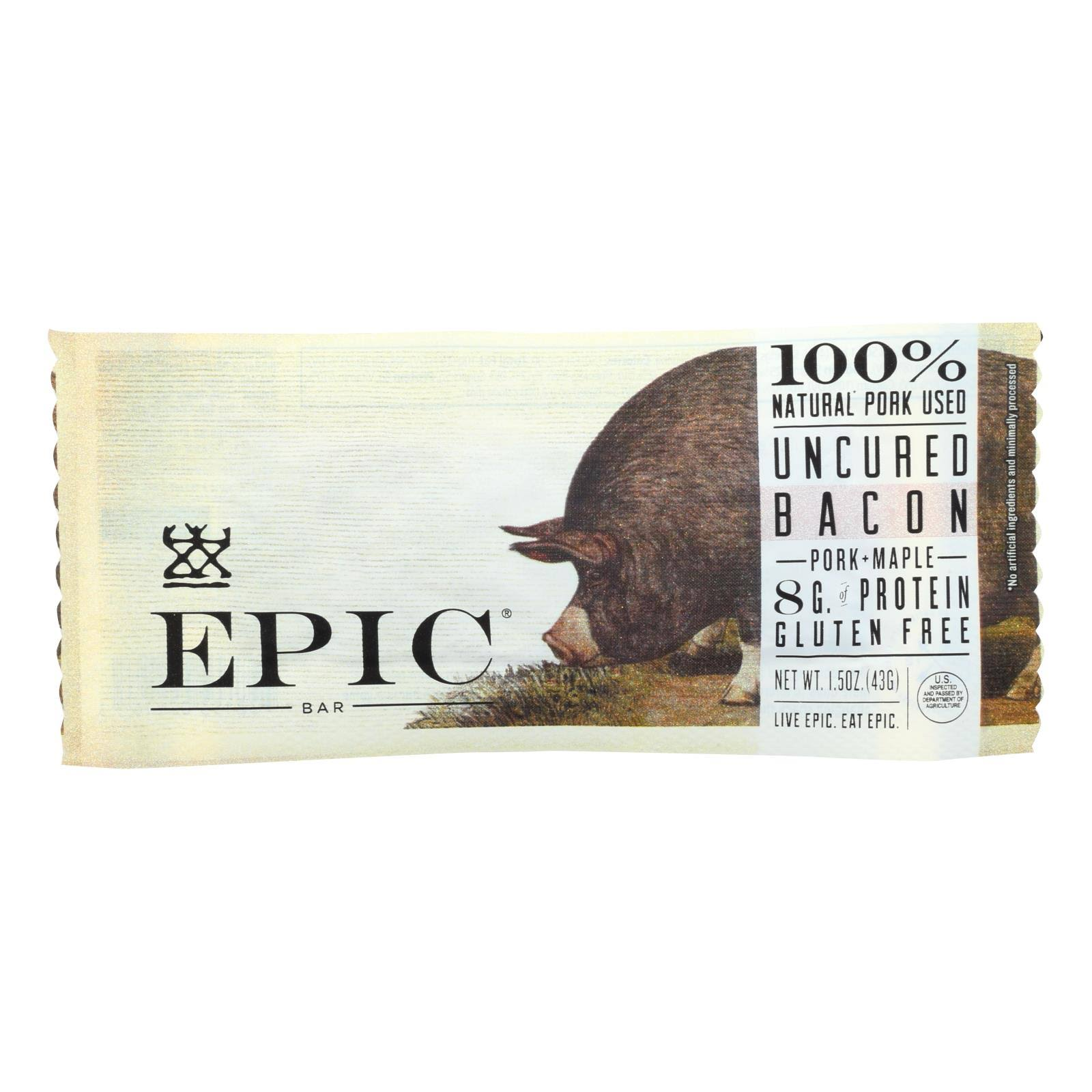 Epic Bacon Maple Protein Bar - 1.5 oz