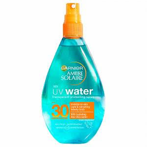 Ambre Solaire UV Water Aloe Vera Clear Sun Cream Spray - SPF 30, 150ml