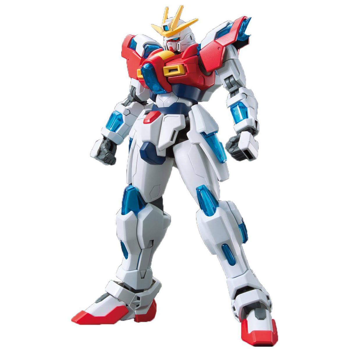 Bandaii Try Burning Gundam Team Try Fighters Sekai Kamiki's Mobile Suit - 1/144 Scale