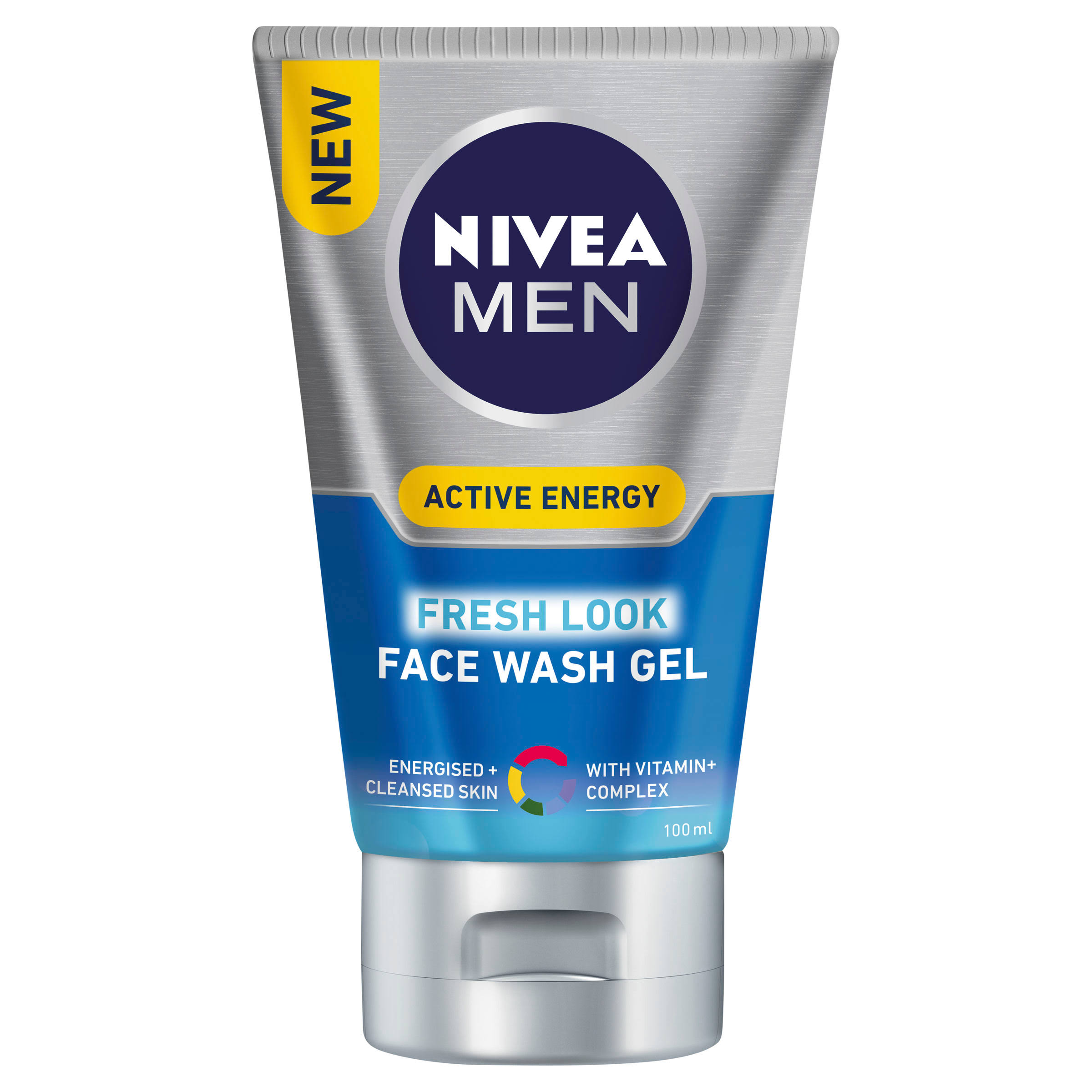 Nivea Men Active Energy Face Wash Gel - 100ml