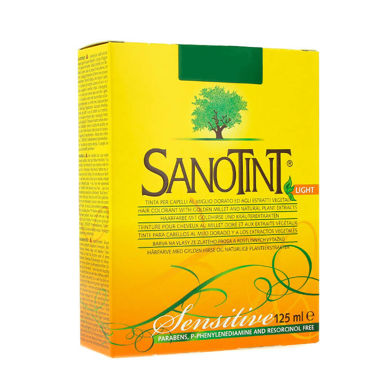 Sanotint Light Natural Hair Dye - 73 Natural Brown, 125ml
