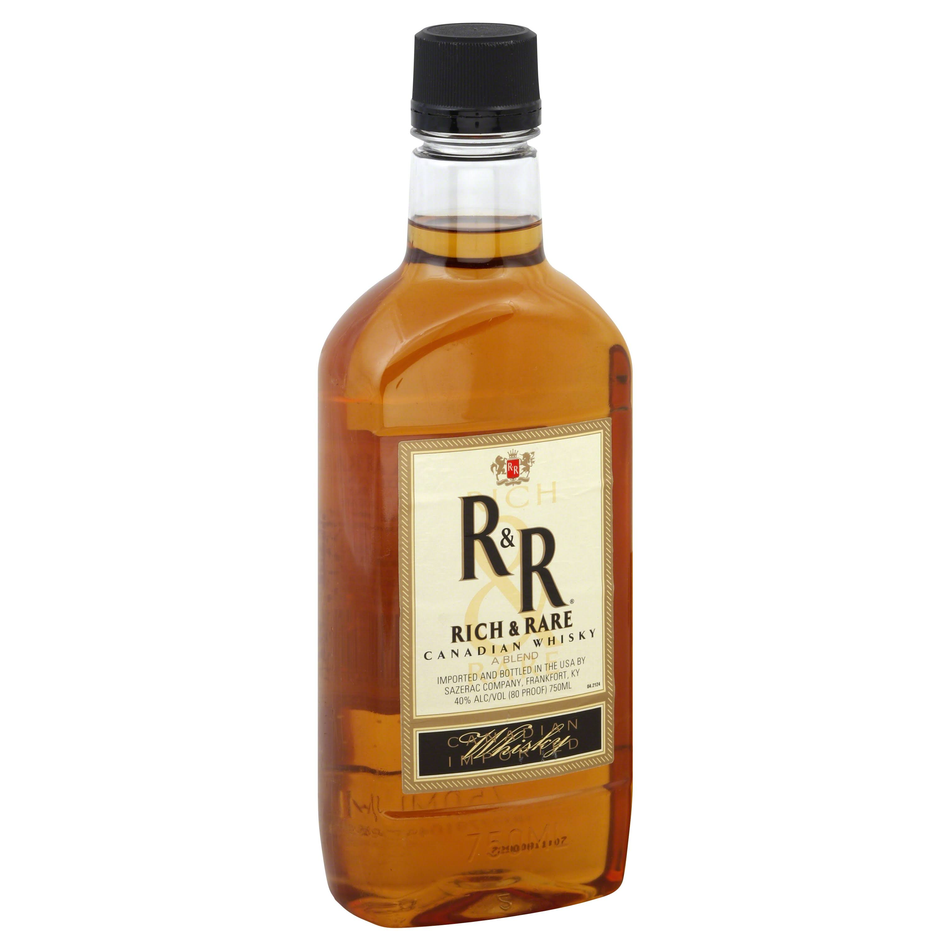 Rich & Rare Whiskey, Canadian - 750 ml