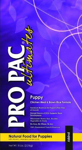 Midwestern Pro Pac Ultimates Puppy Food - Chicken Meal & Brown Rice, 5 Lb