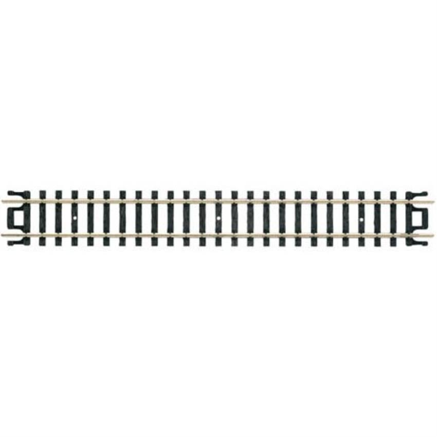 "Atlas 2501 Code 80 N Straight Track - Nickel Silver Rail, 5"", 6 Pieces"