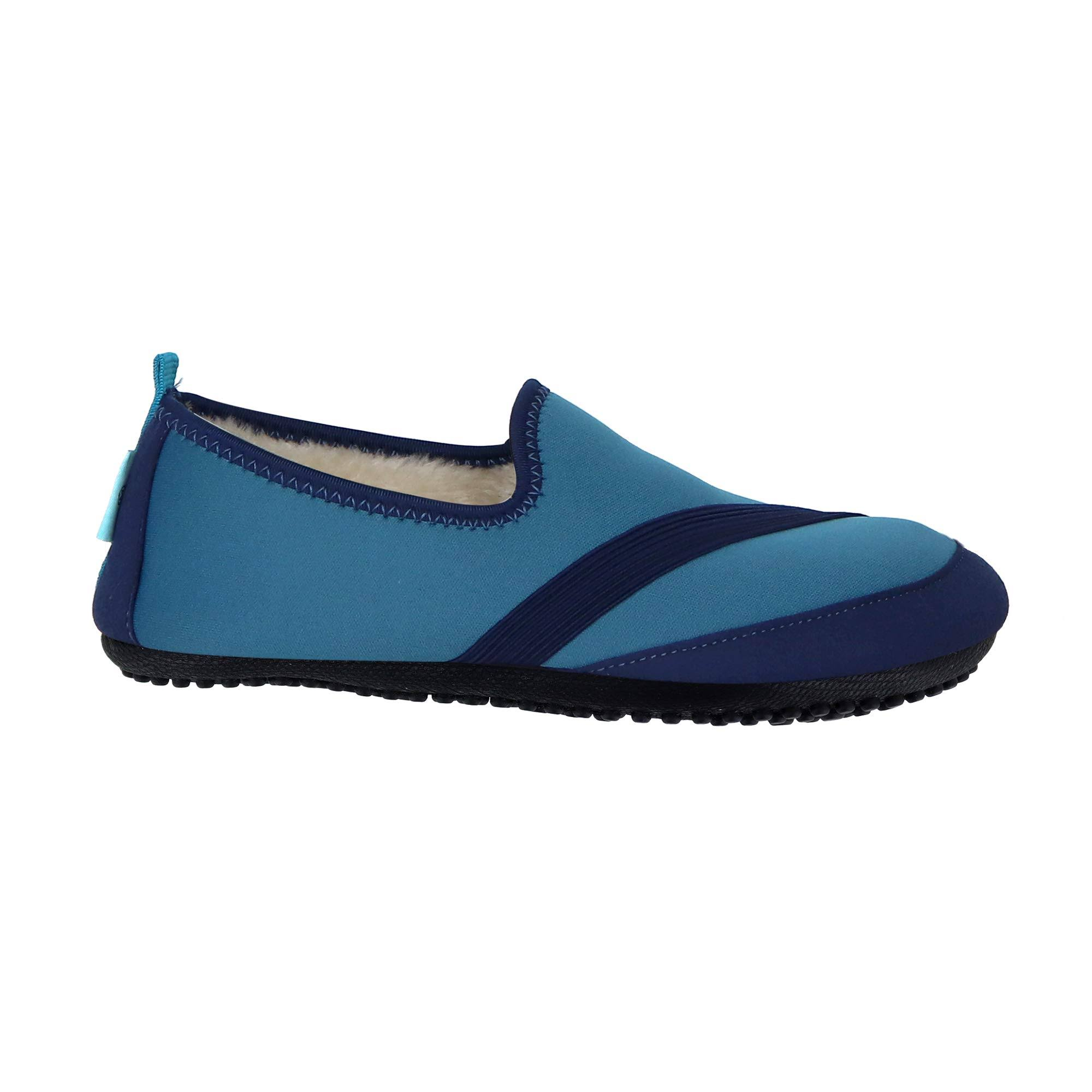Fitkicks Kozikicks Blue Slippers Large