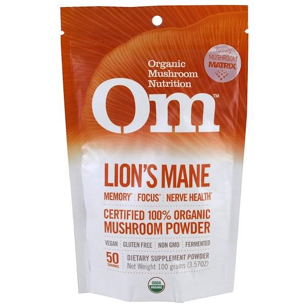 Mushroom Matrix Lions Mane Organic Powder - 3.57oz