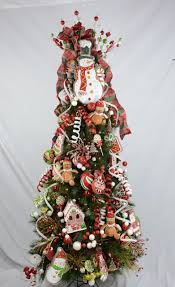 Raz Gold Christmas Trees by Raz Cookie Confection Decorated Christmas Tree