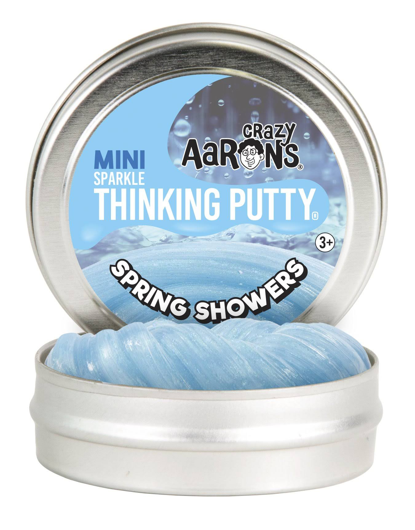 Crazy Aaron's Sparkle Thinking Putty Mini - Spring Showers