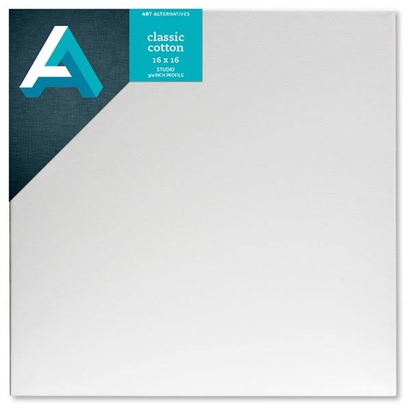 "Art Alternatives AA5523 Studio Stretched Canvas - 16"" x 16"""