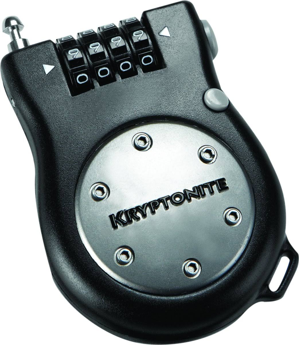 Kryptonite R2 Retractor Combo Cable Lock - 2.4mm