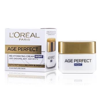 L'Oreal Paris Age Perfect Re-Hydrating Cream - Night, 50ml