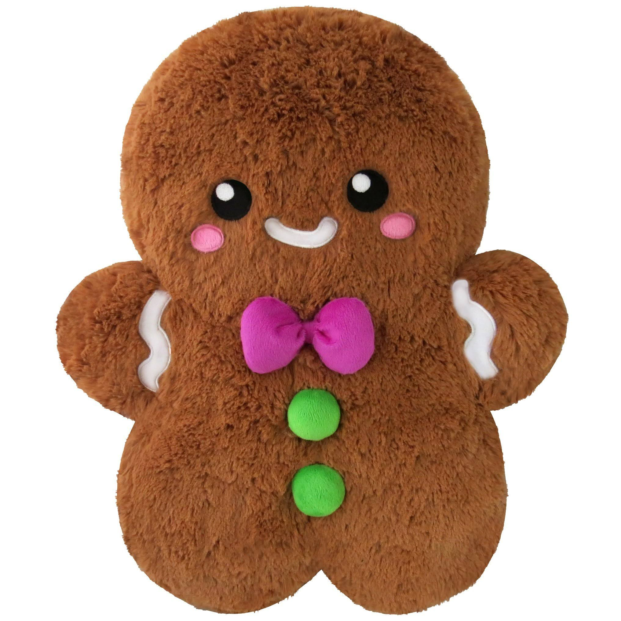 Squishable Comfort Food Gingerbread Man Stuffed Toy - 15""