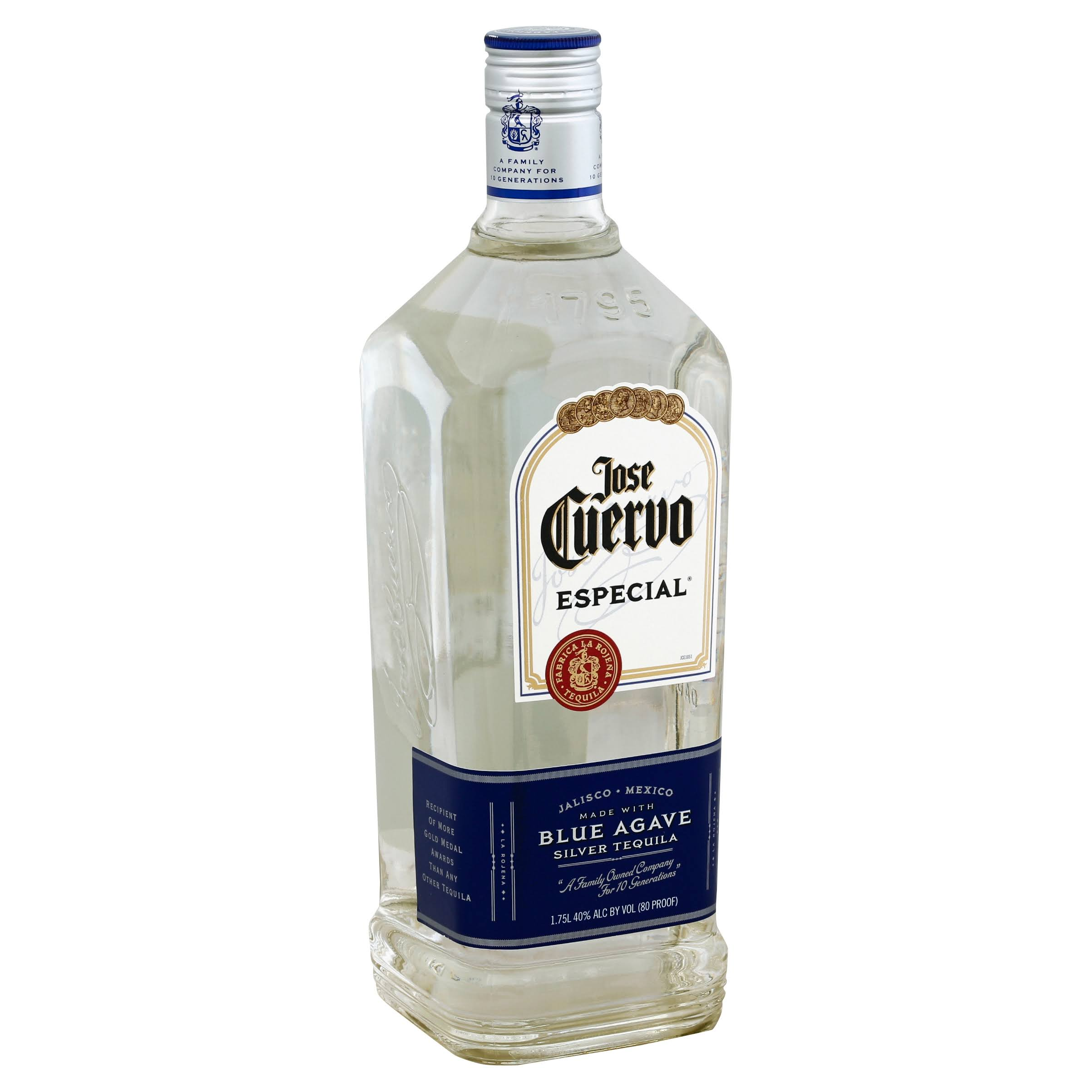 Jose Cuervo Especial Tequila, Silver, Blue Agave - 1.75 l