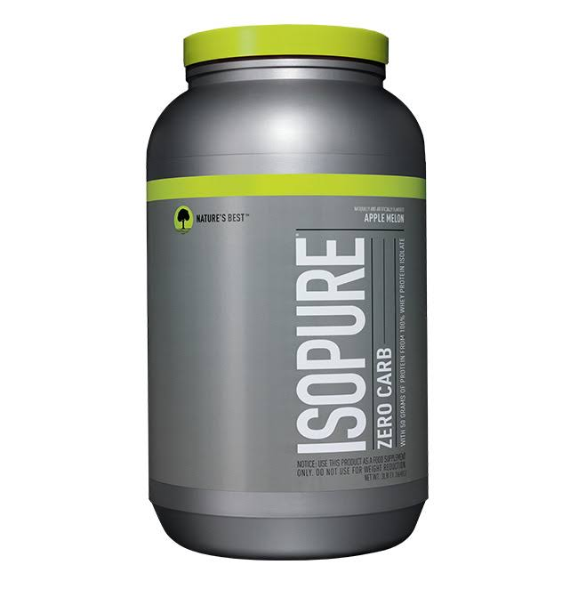 Nature's Best Perfect Zero Carb Isopure - Apple Melon