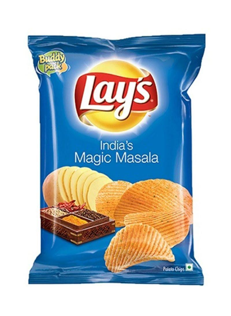 Lays Magic Masala Potato Chips - 80g