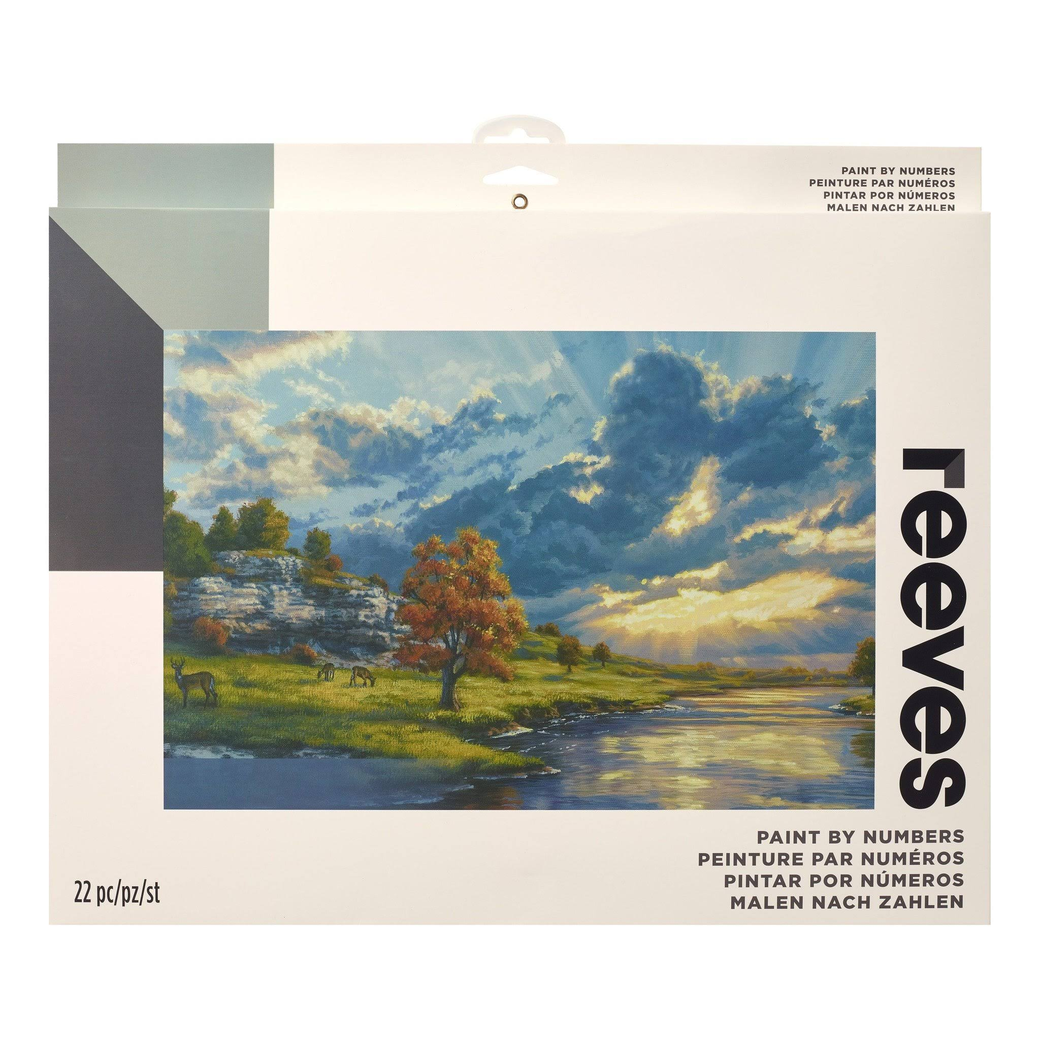 "Reeves Paint By Numbers Artists Collection River's Edge - 12""x16"""