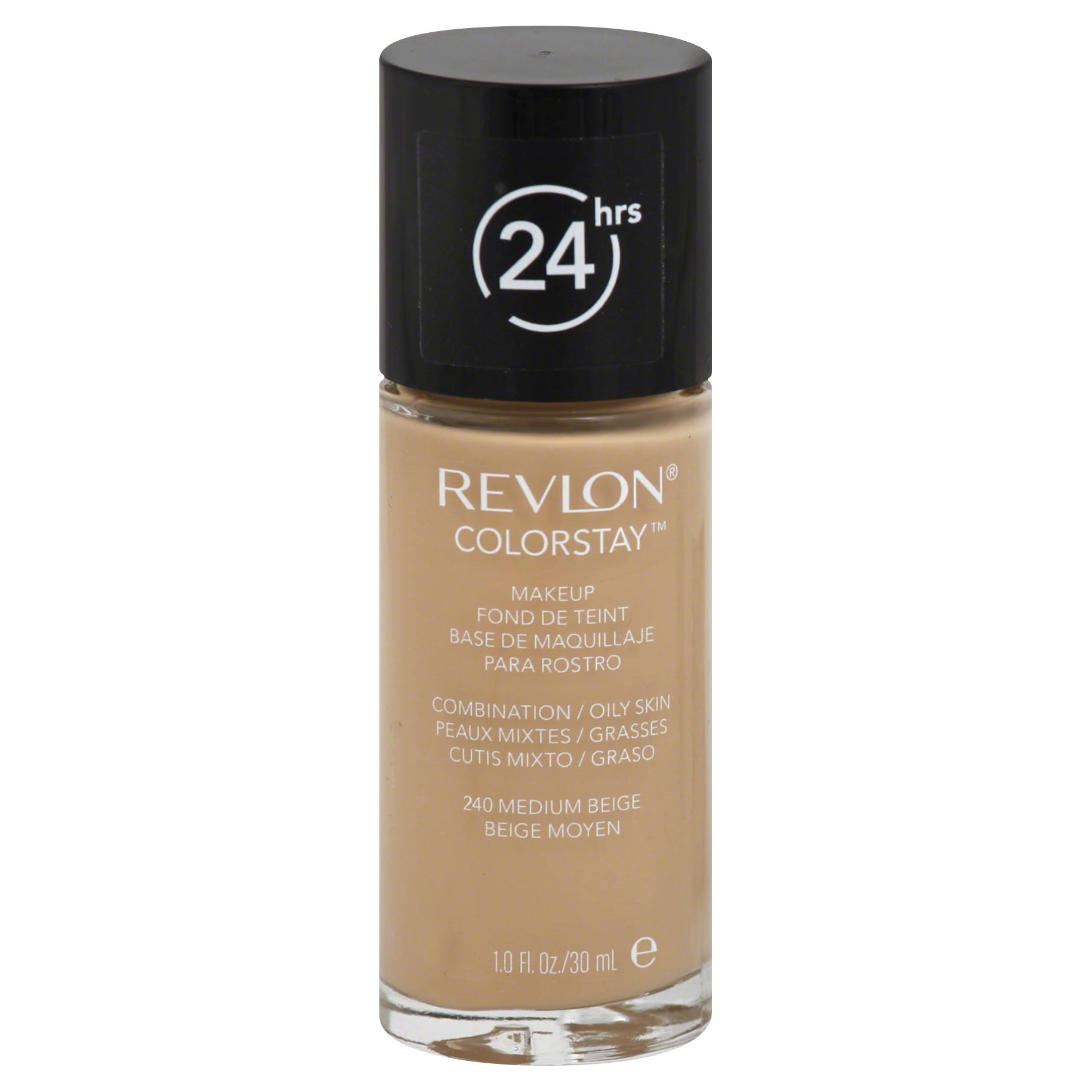 Revlon Colorstay Makeup for Combination Oily Skin Foundation - 240 Medium Beige, 1oz