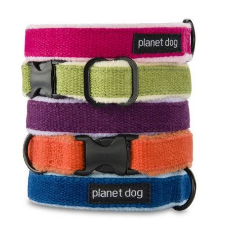 Planet Dog Cozy Hemp Adjustable Dog Collar - Purple, Large, 18-28""