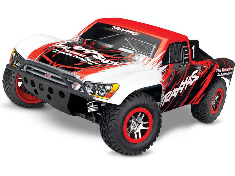 Traxxas 68086-4 - Slash VXL 1/10 4x4 Short Course Truck RTR w/TSM, Red