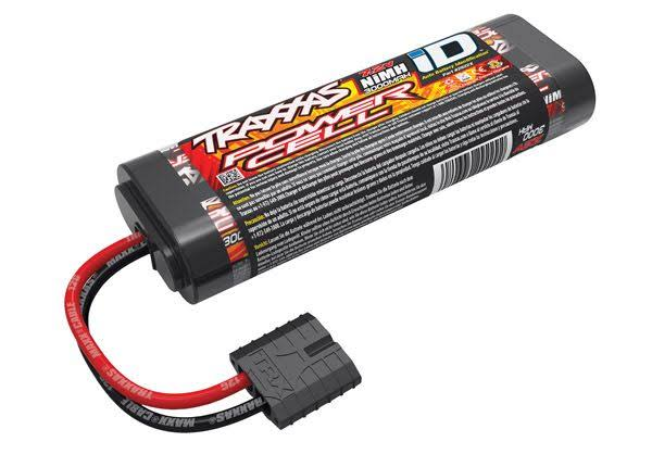 Traxxas 7.2v NiMH 3000mah 6 Cell Flat ID Battery