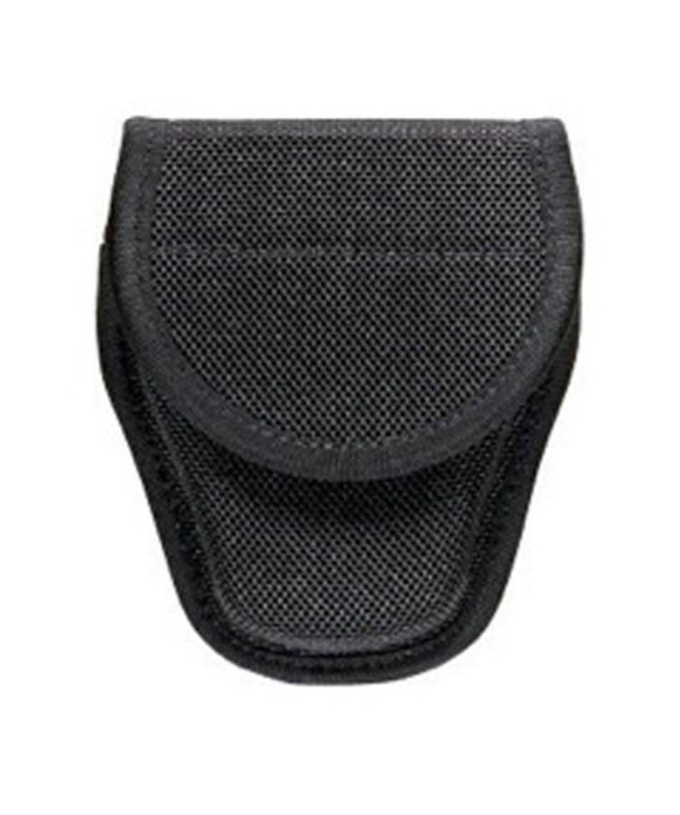 Bianchi AccuMold 7300 Covered Black Handcuff Case