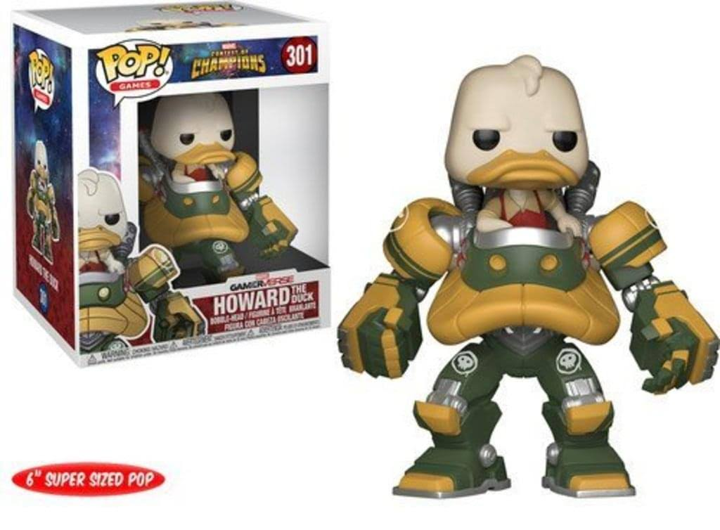 Pop! Vinyl: Games: Marvel Contest of Champions: 6' Howard The Duck