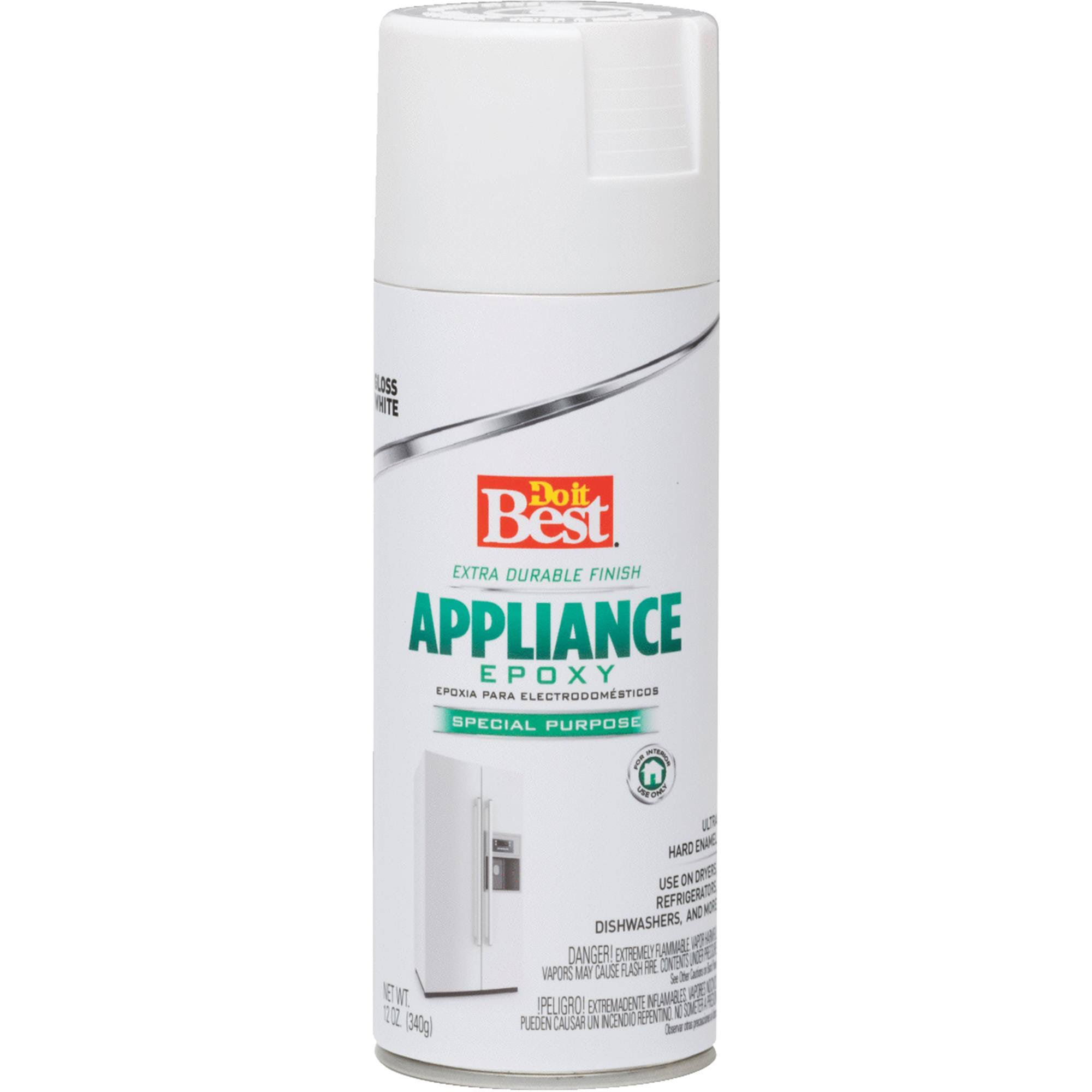 Do it Best Appliance Epoxy Enamel Aerosol - White