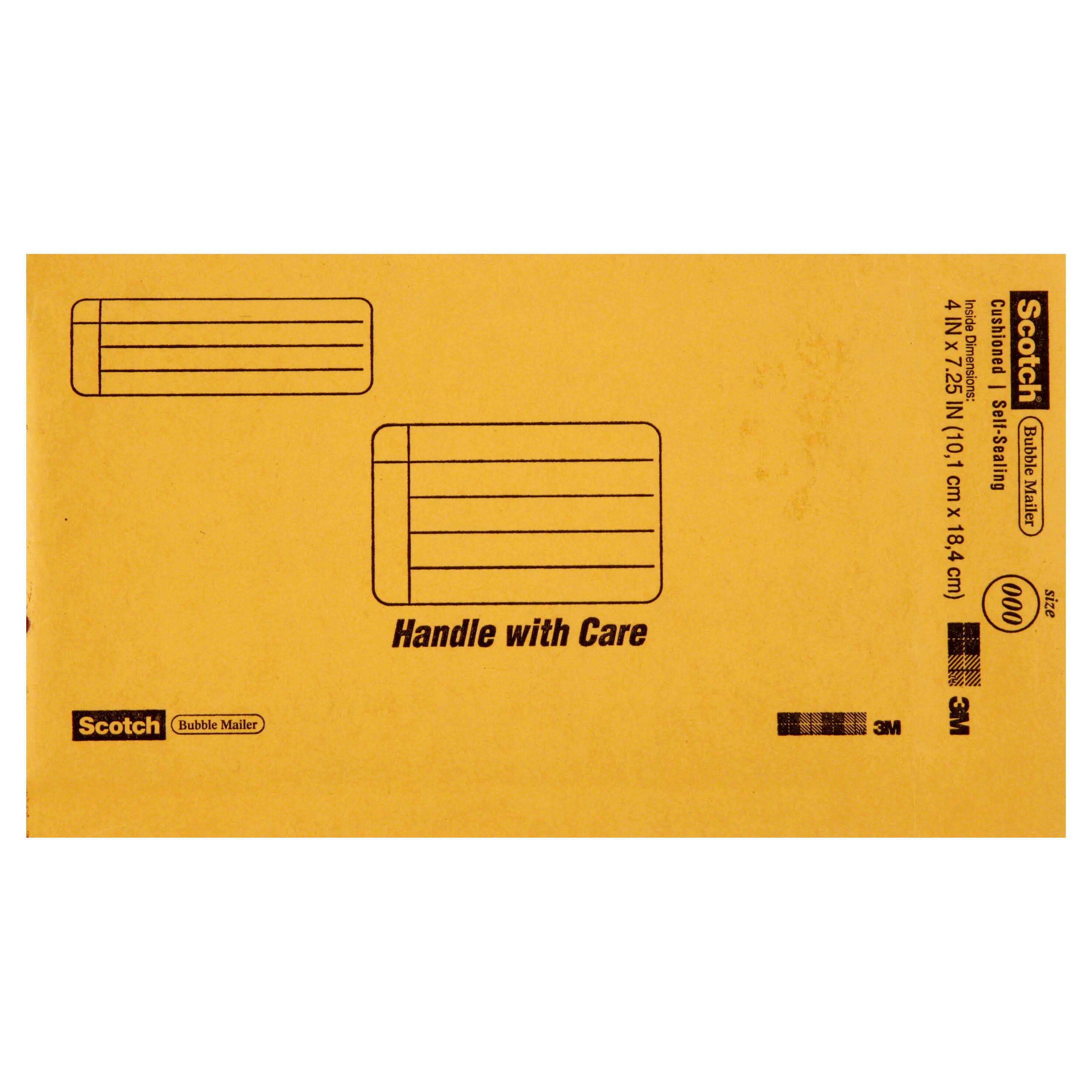 Scotch Bubble Mailer, Size 000