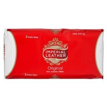 Imperial Leather Original Bar Soap - 3pk, 100g